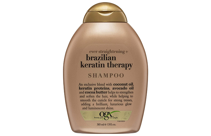 OGX Organix Ever Straight Shampoo Brazilian Keratin Therapy