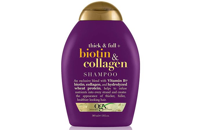 OGX Organix Thick and Full Biotin and Collagen Shampoo