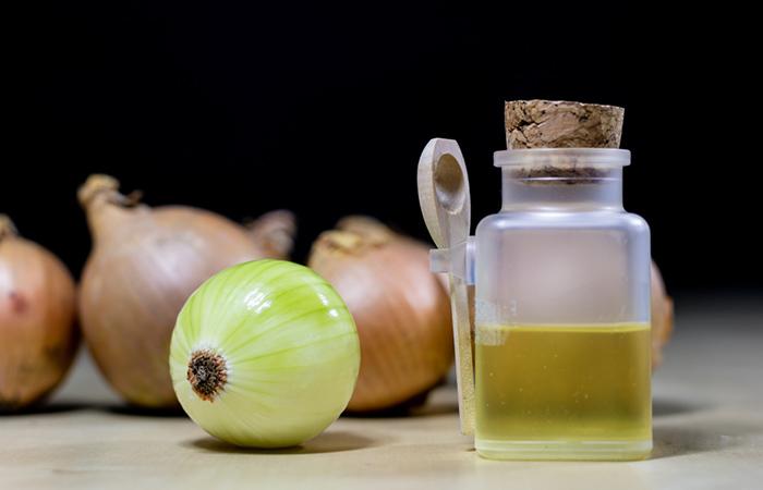 Onion Juice Hair Rinse