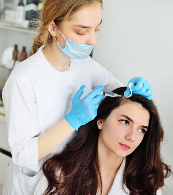 PRP Treatment For Hair Growth And Reduced Hair Loss