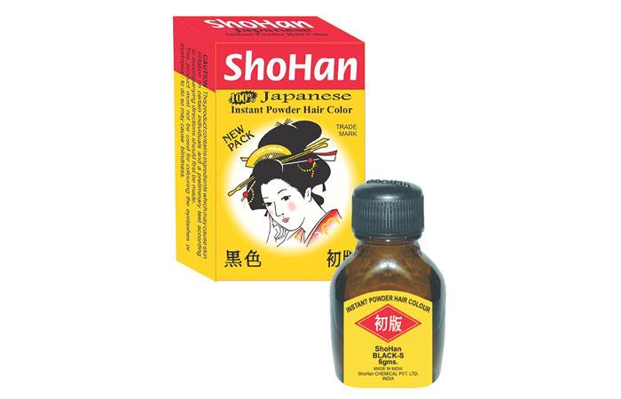 ShoHan Instant Powder Hair Color – Black