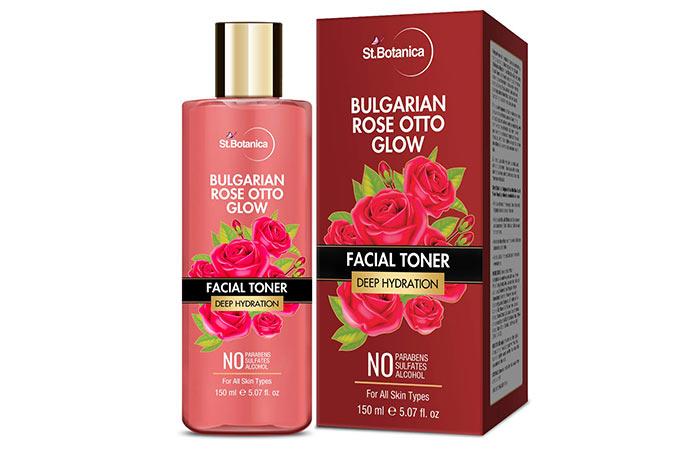 StBotanica Bulgarian Rose Otto Glow Facial Toner
