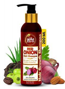 The Indie Earth Red Onion Hair Shampoo