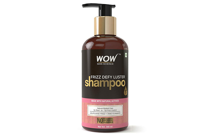 WOW Skin Science Frizz Defy Luster Shampoo