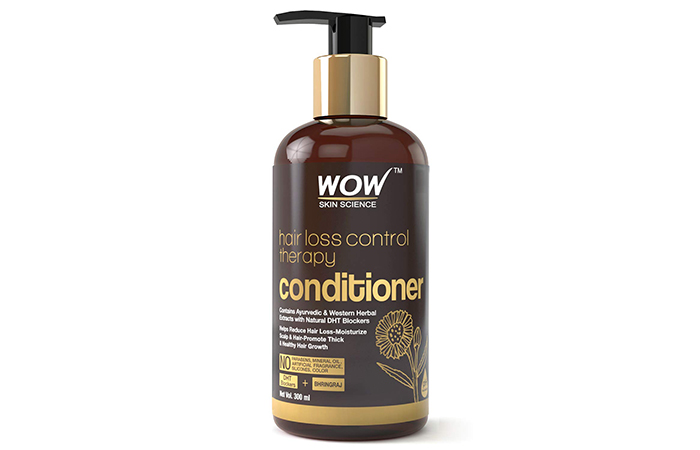 WOW Skin Science Hair Loss Control Therapy Conditioner