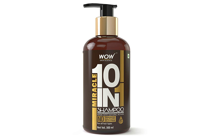 WOW Skin Science Miracle 10-in-1 Shampoo