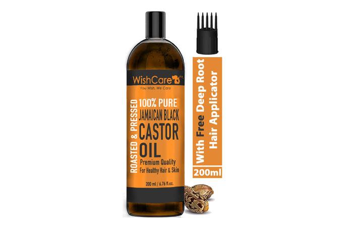 WishCare 100 Pure Jamaican Black Castor Oil