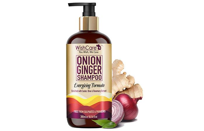 WishCare Onion Ginger Shampoo