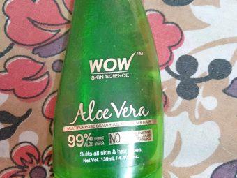 WOW Skin Science Aloe Vera Gel -Best aloe gel-By suchismita