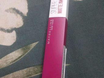 Maybelline New York Superstay Matte Ink Liquid Lipstick -Best liquid lipsticks-By suchismita