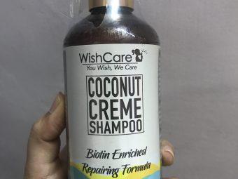 WishCare Coconut Creme Shampoo With Biotin pic 2-Amazing Shampoo-By shreyu17
