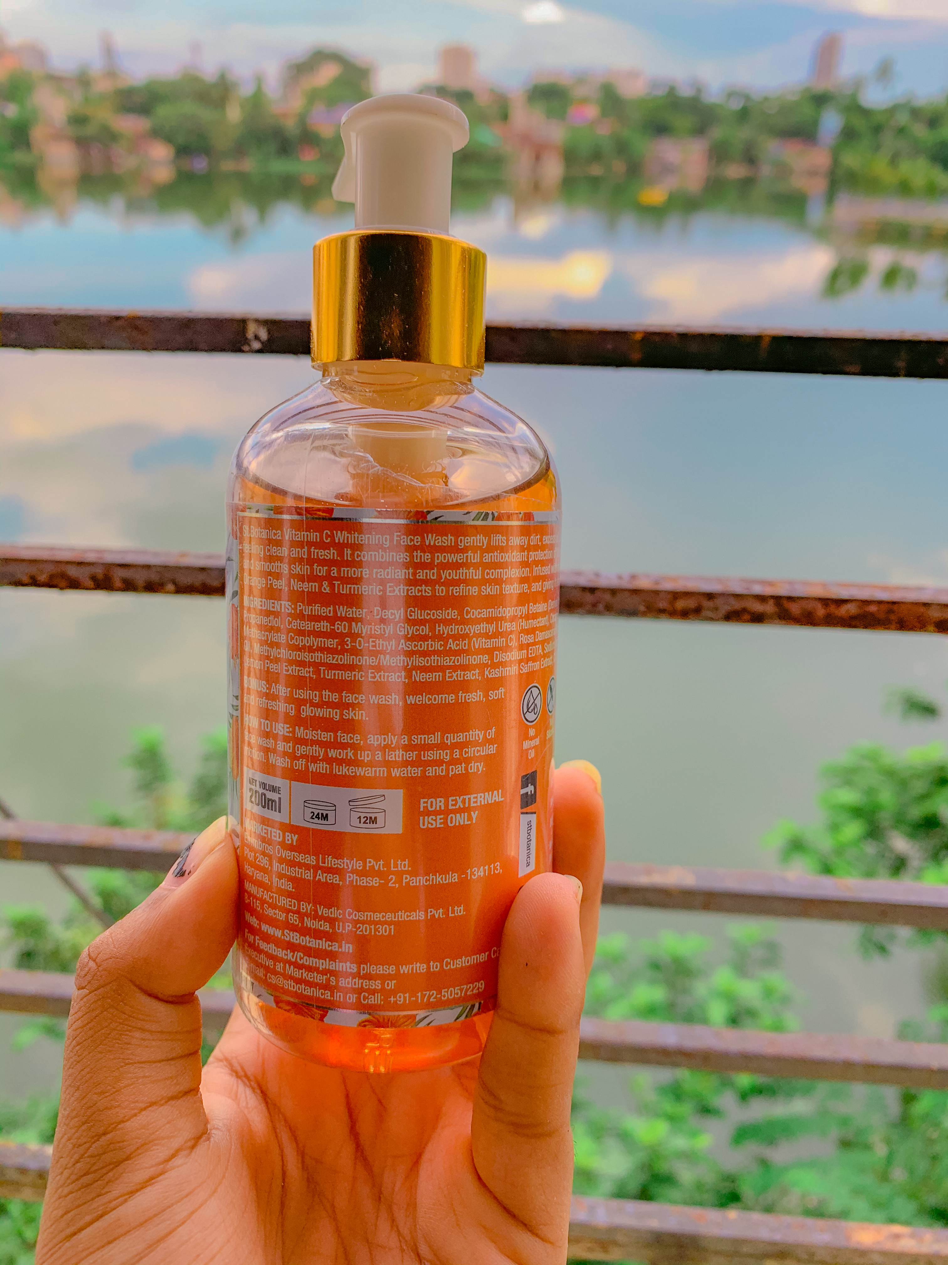St.Botanica Vitamin C Face Wash -A good cleanser to keep .-By arunikakoley
