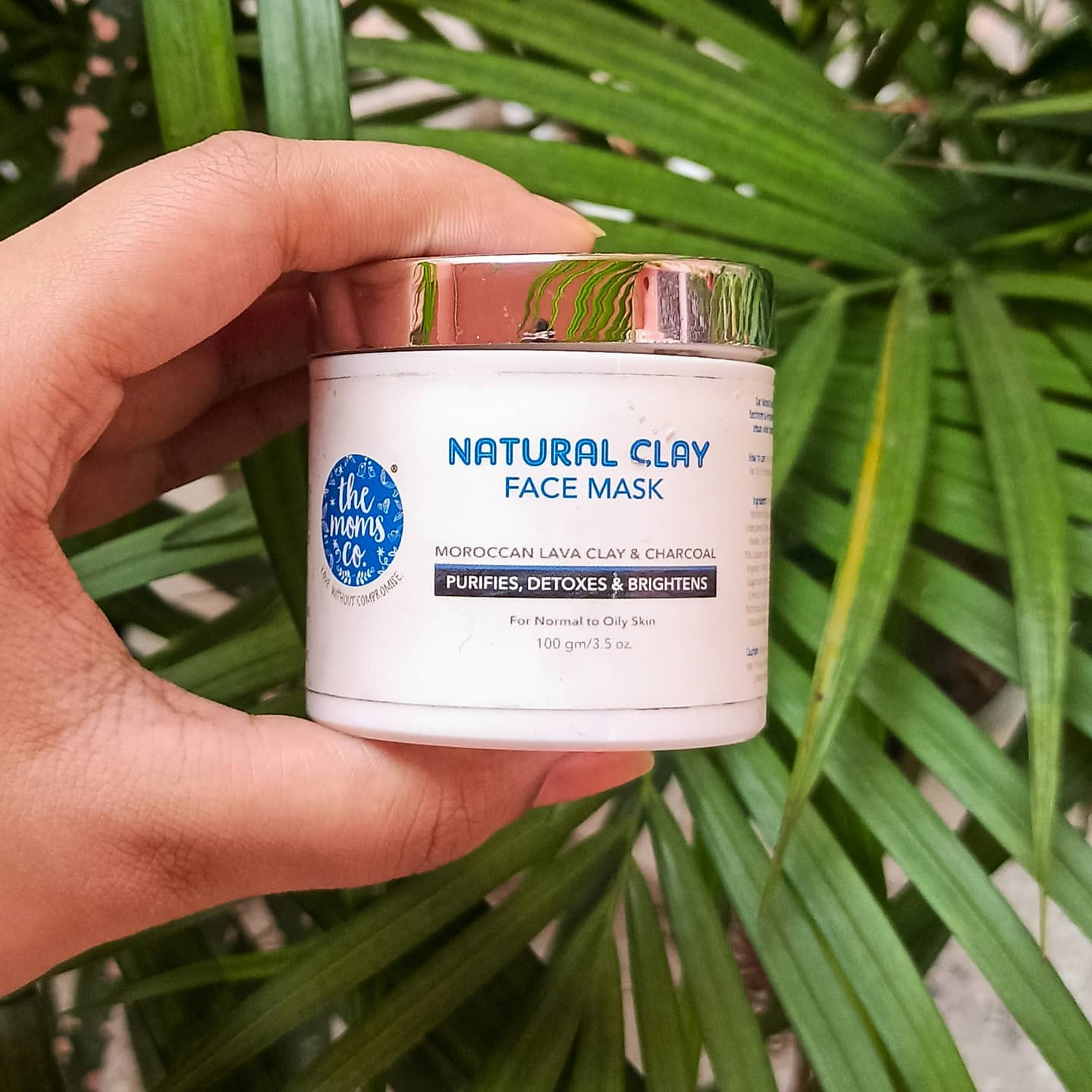 The Moms Co. Natural Clay Face Mask-Works great for oily/combo skin-By samviti_bhardwaj-2