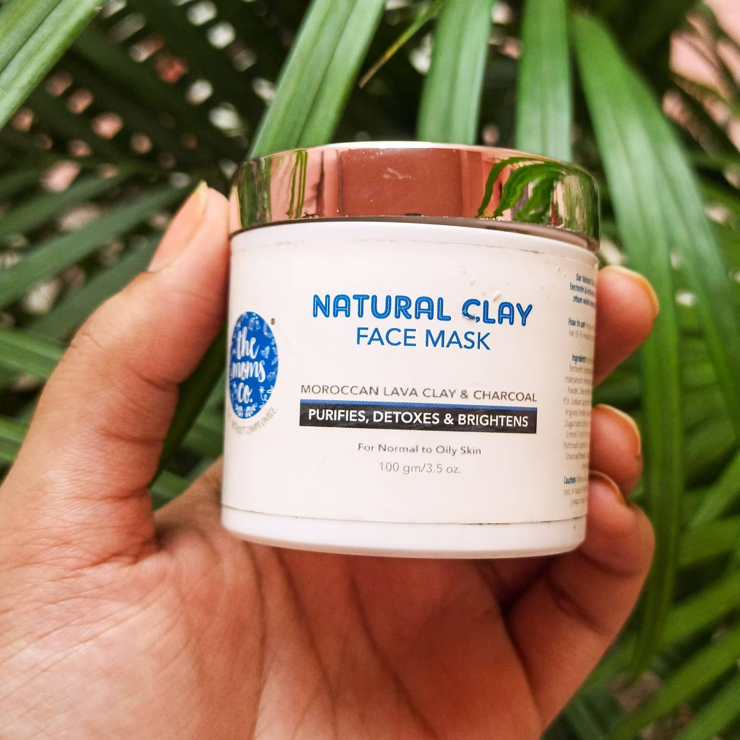 The Moms Co. Natural Clay Face Mask-Works great for oily/combo skin-By samviti_bhardwaj-3