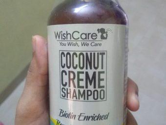 WishCare Coconut Creme Shampoo With Biotin -nice shampoo-By supriya_lodhi