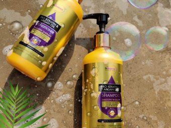 St.Botanica Pro Keratin & Argan Oil Shampoo -Best shampoo for dry and frizzy hair-By jagriti2468