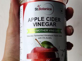St Botanica Apple Cider Vinegar -Happy purchase-By meghanka_parihar