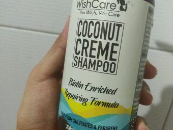 WishCare Coconut Creme Shampoo With Biotin pic 2-Wonderful shampoo-By glowbabies_25