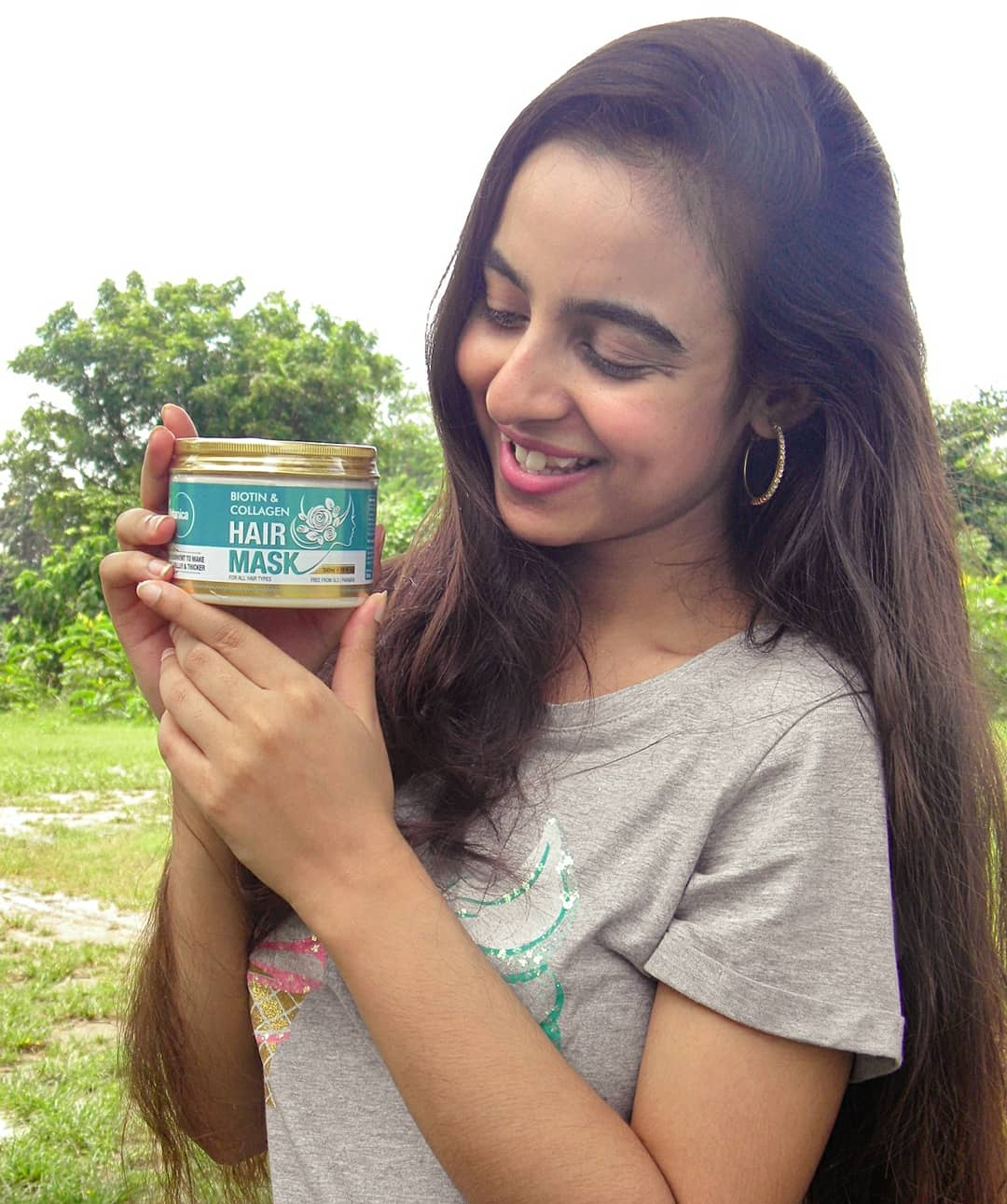 St.Botanica Biotin & Collagen Hair Mask-Best mask for frizzy hair.-By pragaticonnects
