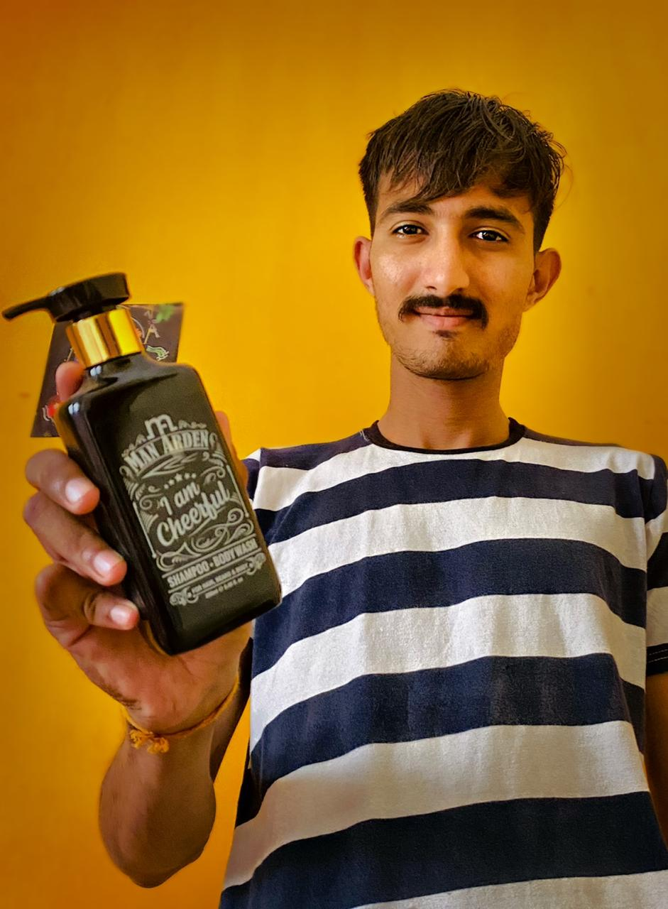 Man Arden I Am Cheerful Shampoo Bodywash-Totally satisfied.-By mayursinh_vaghela