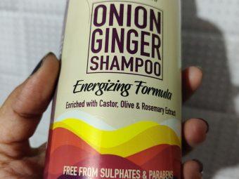 WishCare Onion Ginger Shampoo -Very mild shampoo-By sapnasingh84
