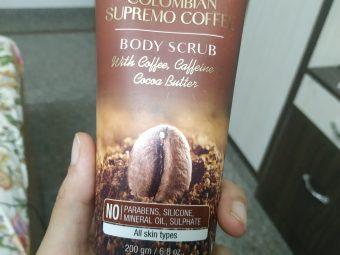 St.Botanica Colombian Supremo Coffee Body Scrub -Coffee cleansing-By taniyajoshi13