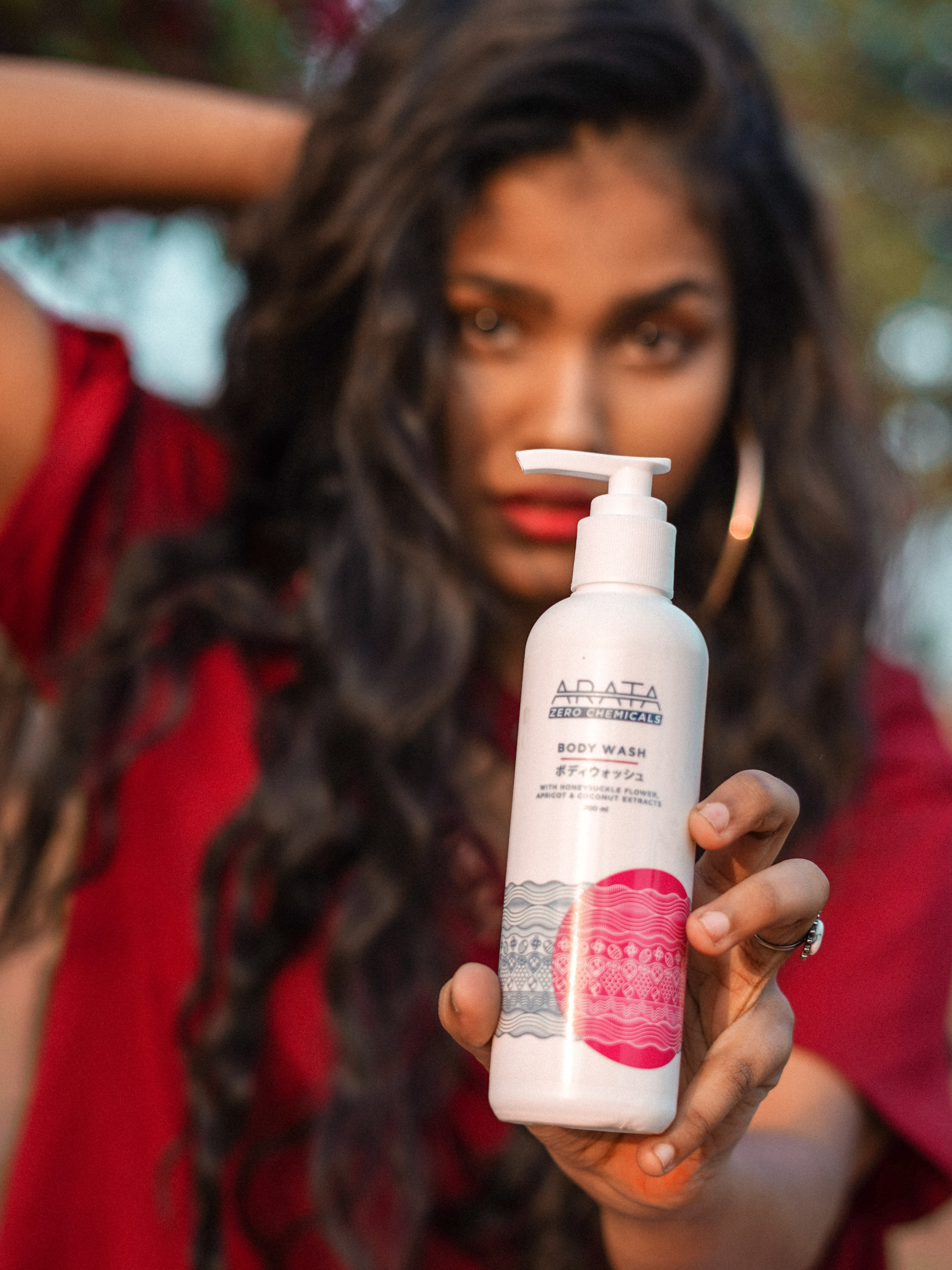 Arata Coconut & Apricot Body Wash -my shower time is now more fun!!-By nikita_biswas
