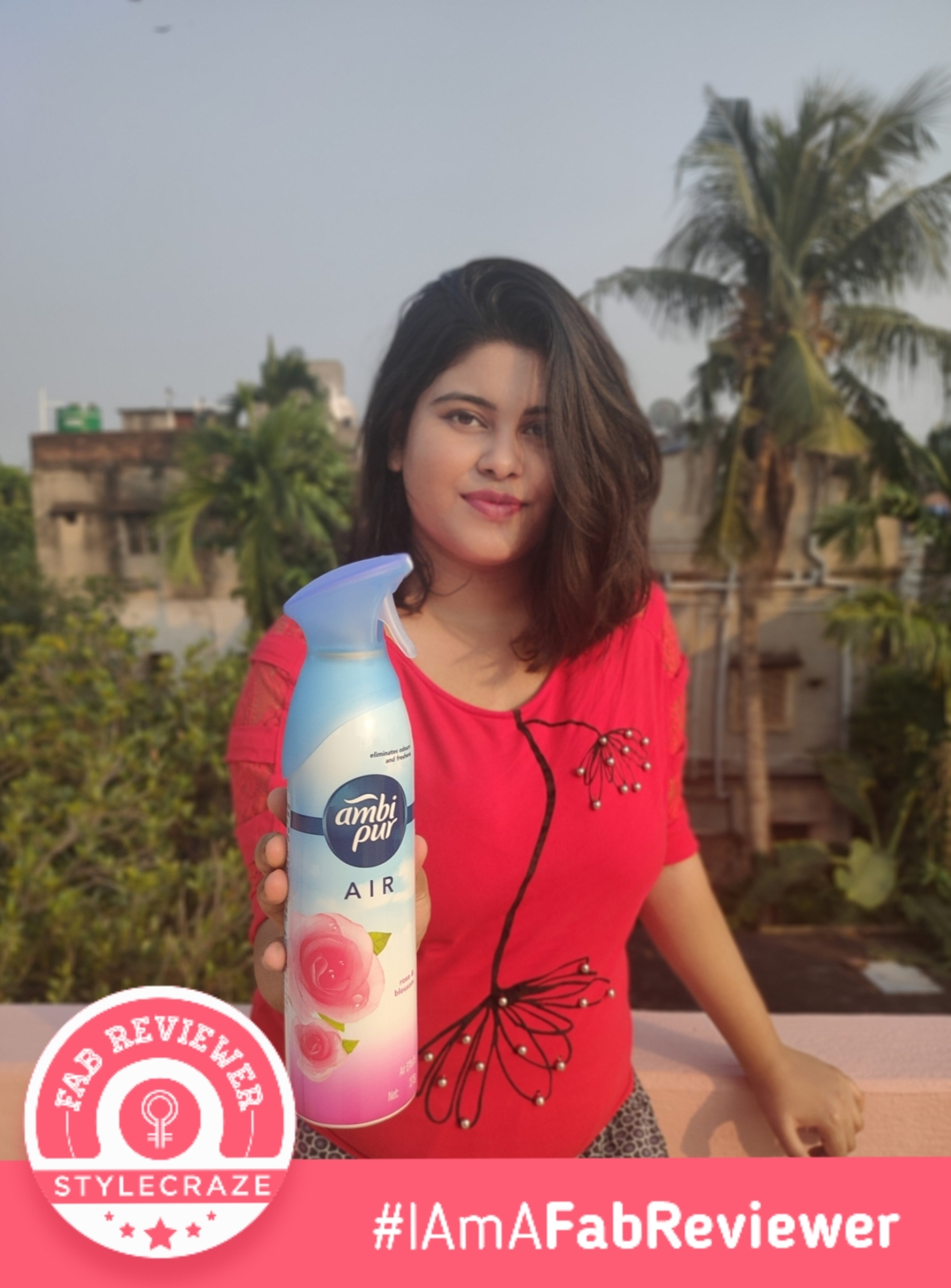 Ambi Pur Air Freshener – Rose and Blossom -AWESOME PRODUCT-By garima_kumu