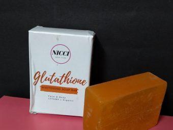 Nicci Glutathione Whitening Soap -Amazing product-By annie1904