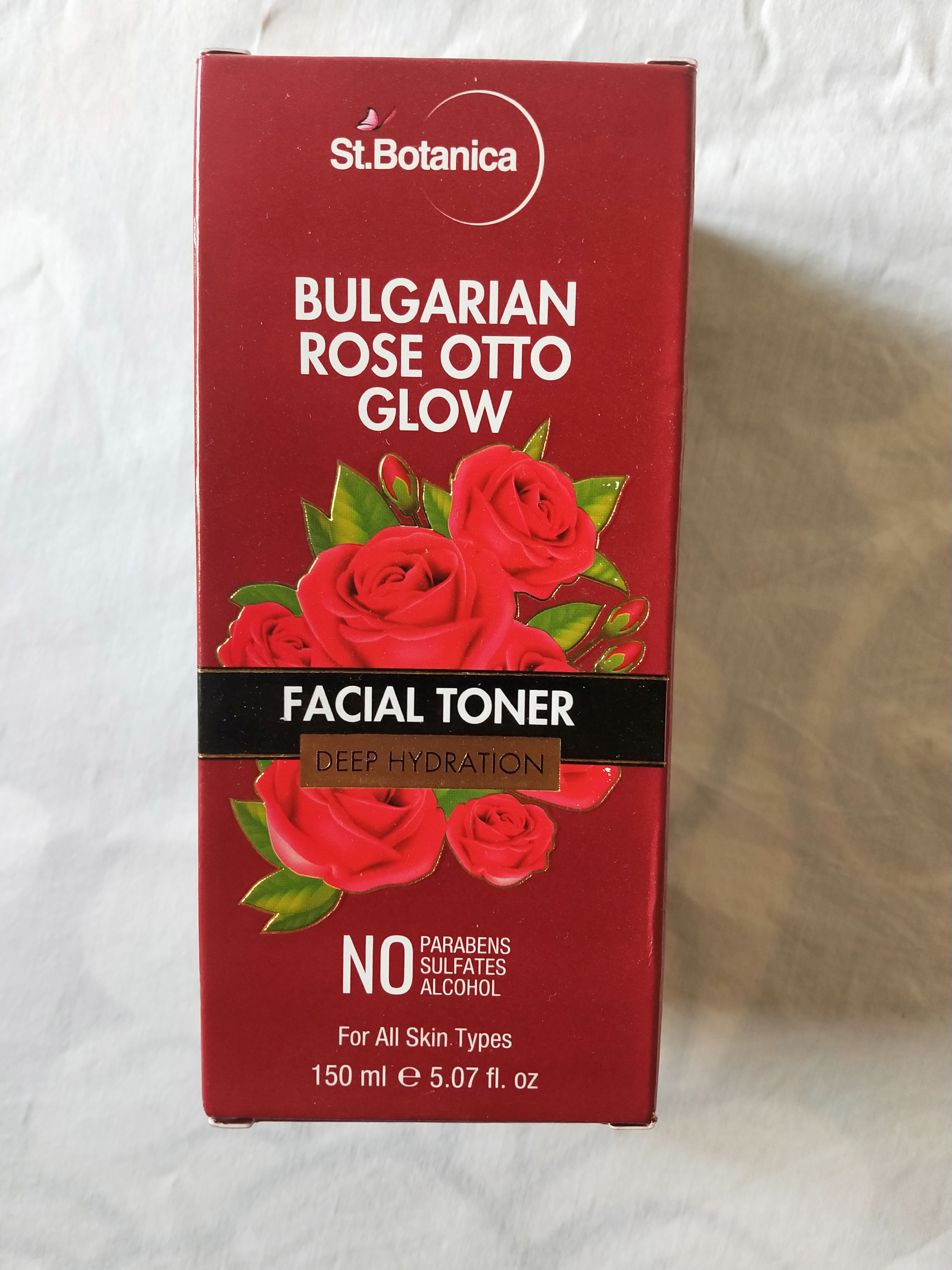 StBotanica Bulgarian Rose Otto Glow Deep Hydration Facial Toner pic 2-Rose toner – good for hydration-By miss_hungry_soul