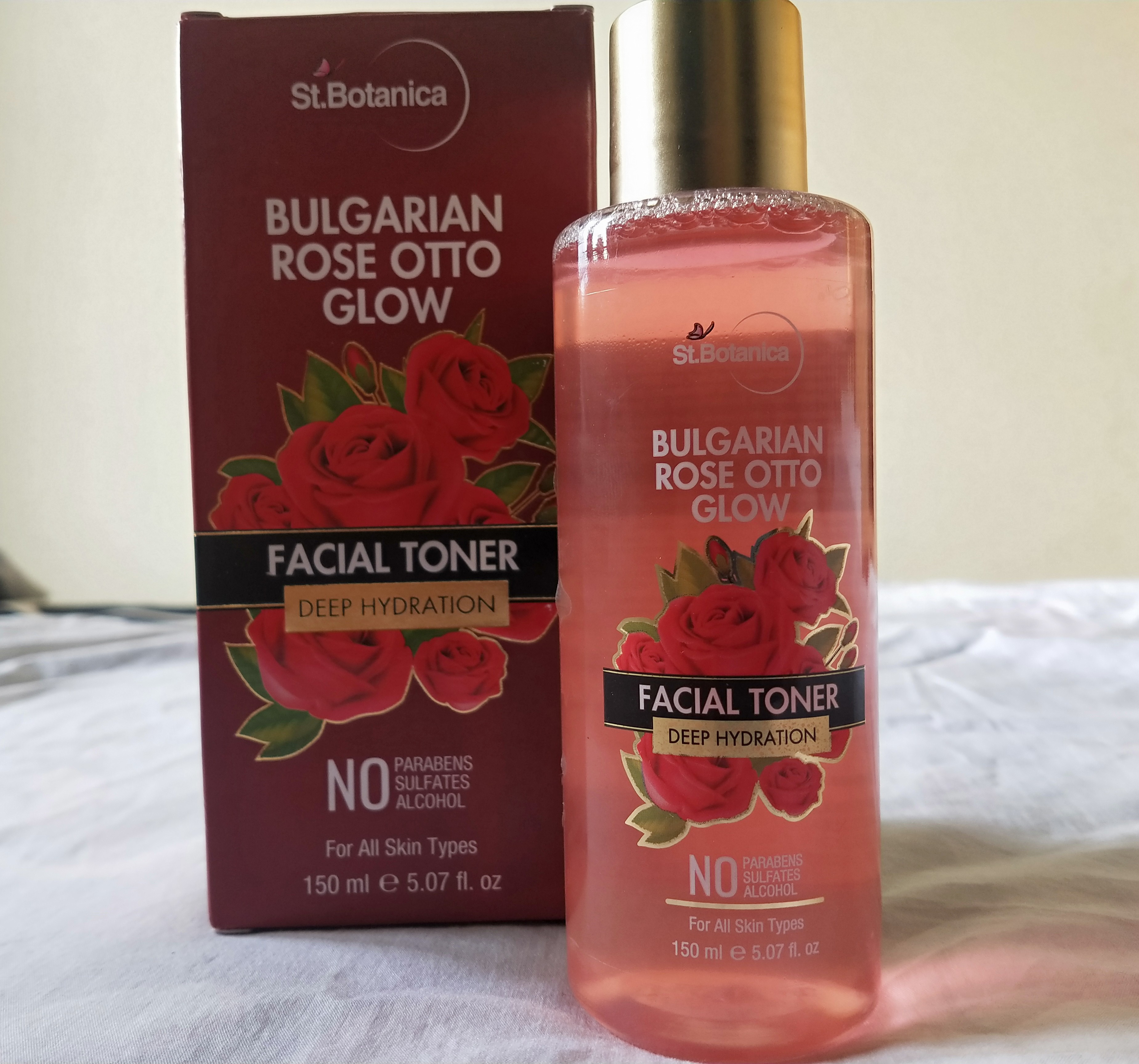 StBotanica Bulgarian Rose Otto Glow Deep Hydration Facial Toner pic 1-Rose toner – good for hydration-By miss_hungry_soul