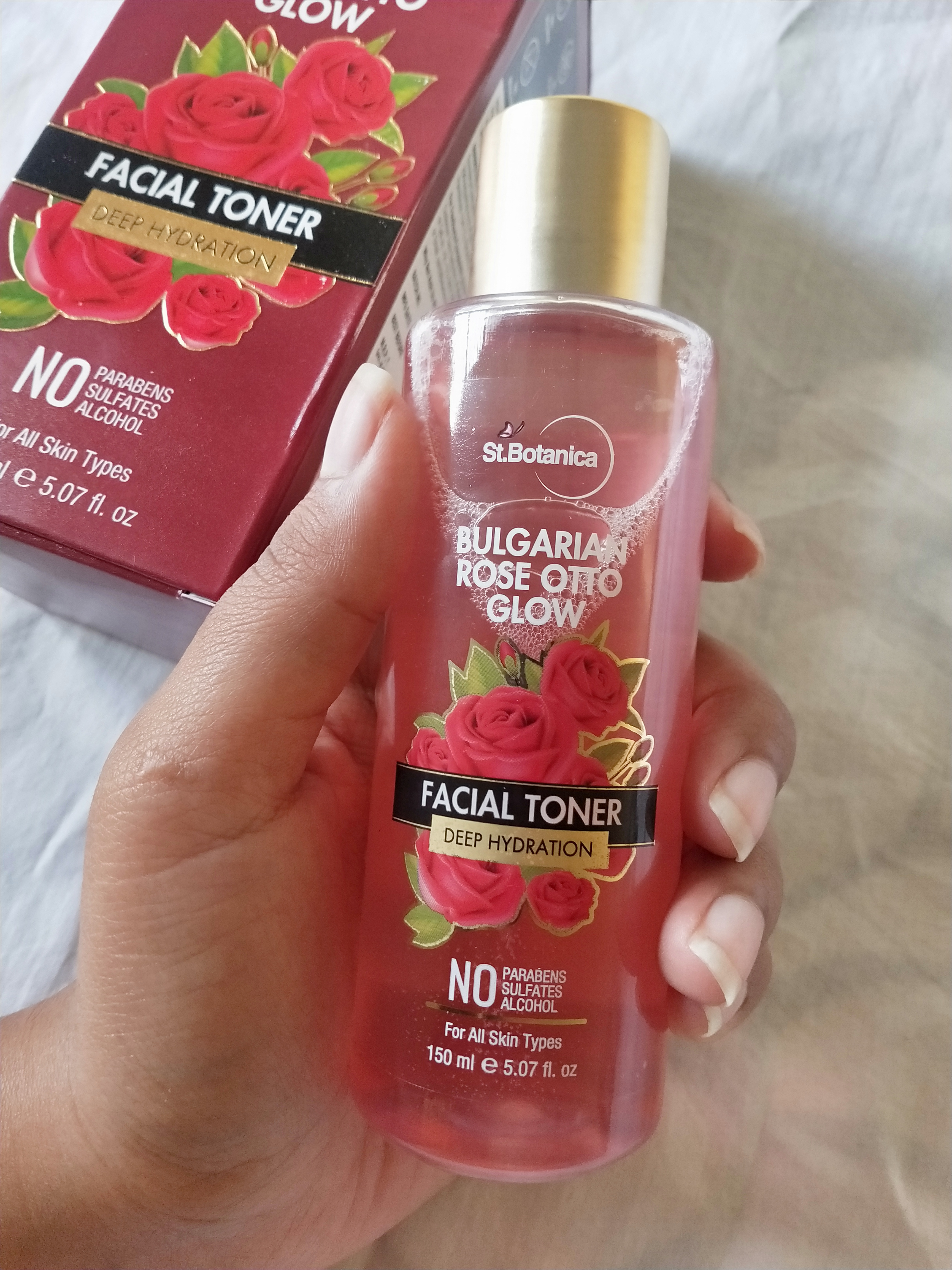 StBotanica Bulgarian Rose Otto Glow Deep Hydration Facial Toner pic 3-Rose toner – good for hydration-By miss_hungry_soul