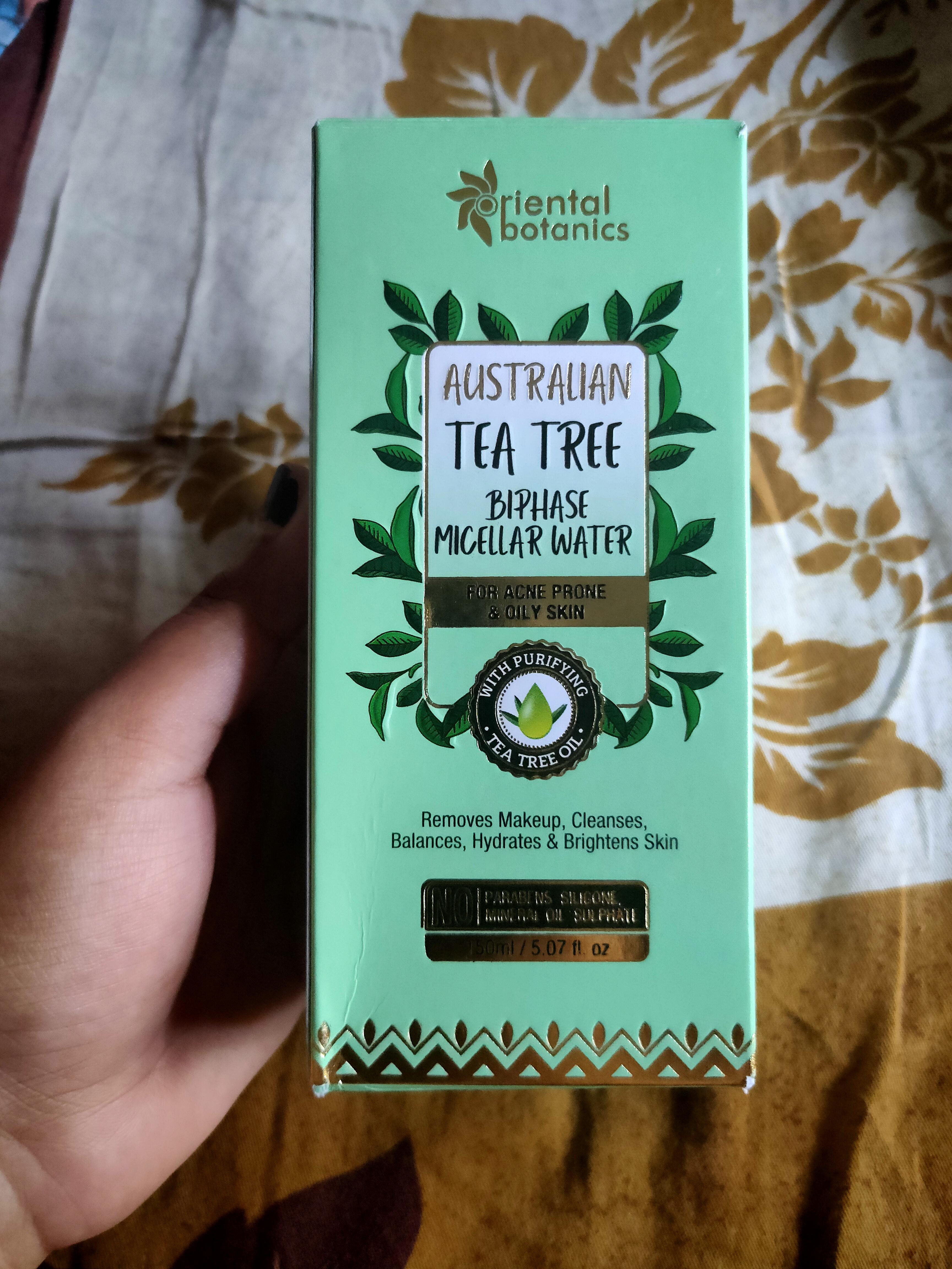 Oriental Botanics Australian Tea Tree Bi-Phase Micellar Water-BEST MICELLAR WATER FOR OIL-By garima_kumu-3