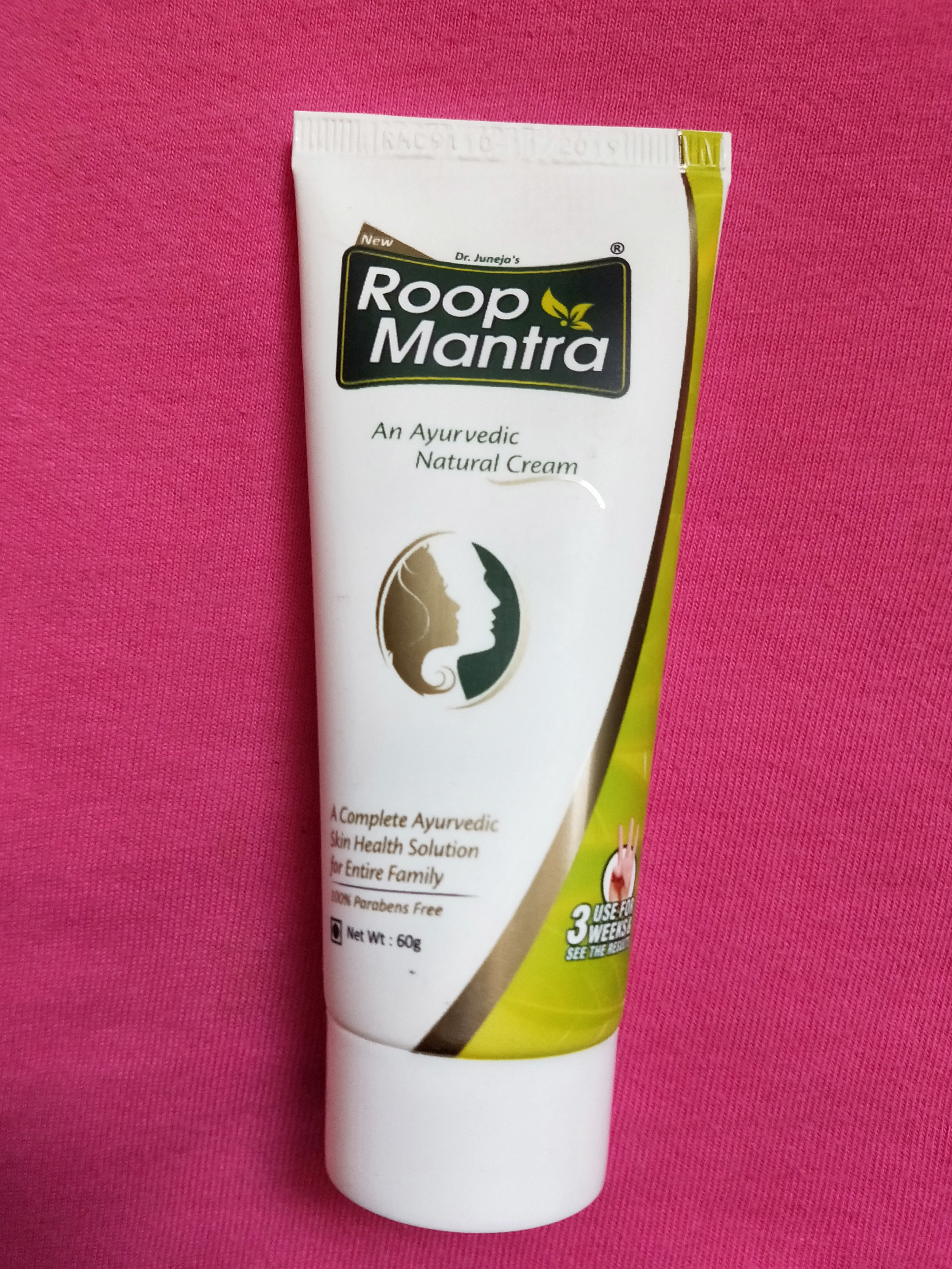 Roop Mantra Ayurvedic Medicinal Face Cream pic 3-Ayurvedic Cream to resolve all your skin problems.-By miss_hungry_soul