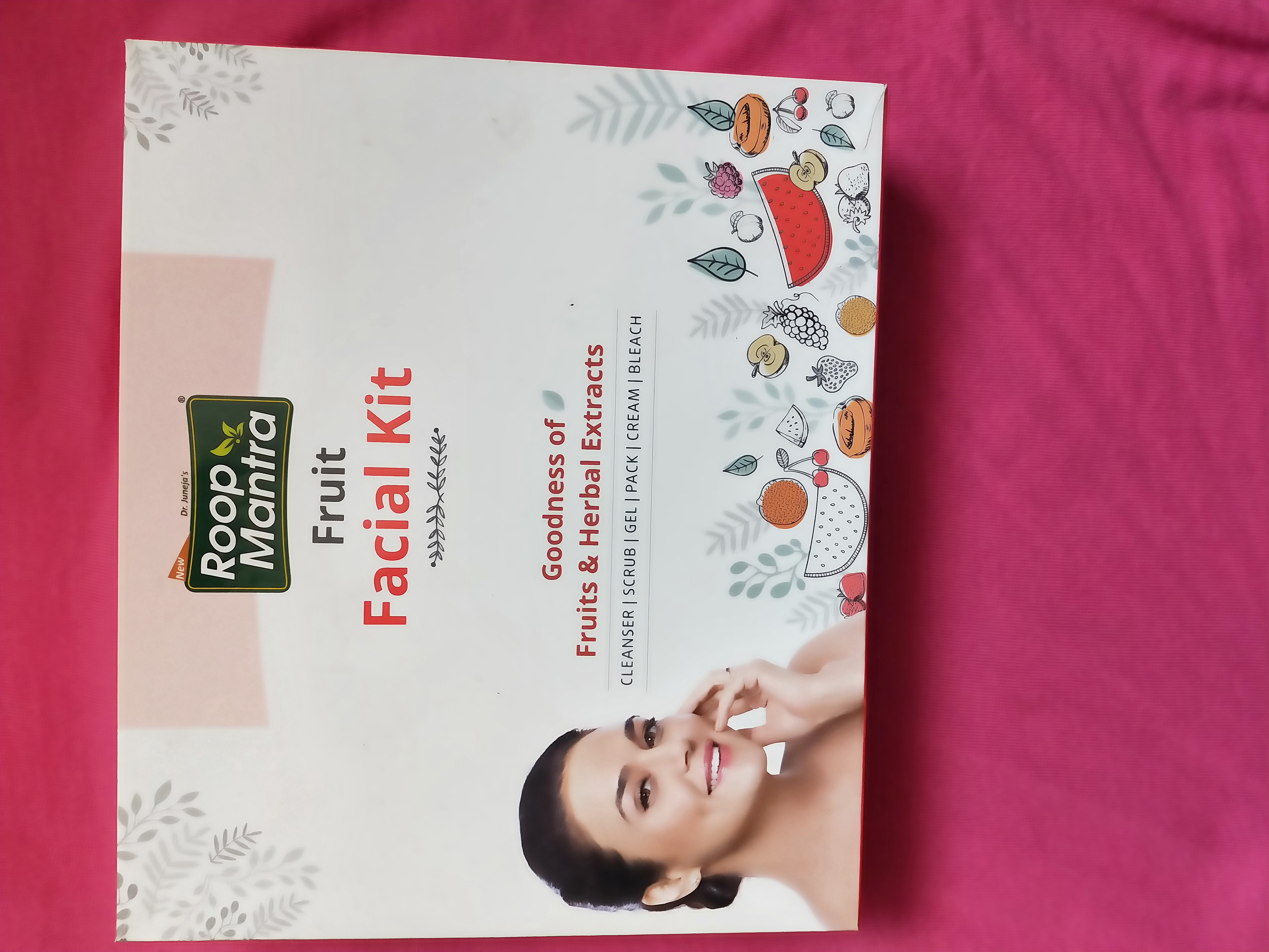 Roop Mantra Fruit Facial Kit pic 1-Facial at home at affordable price-By miss_hungry_soul