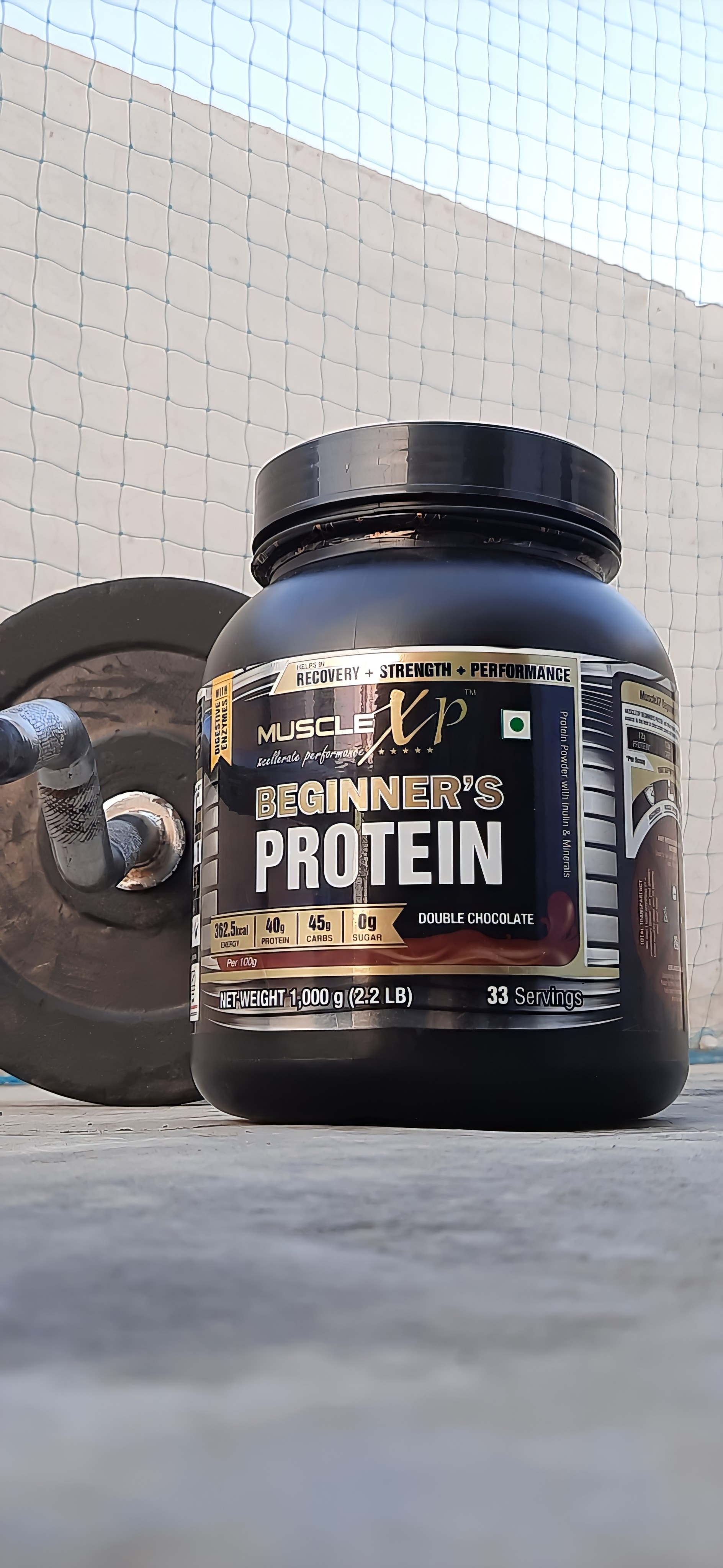 MuscleXP Beginner's Protein With Digestive Enzymes-This is the best product for beginners-By jaspreet89