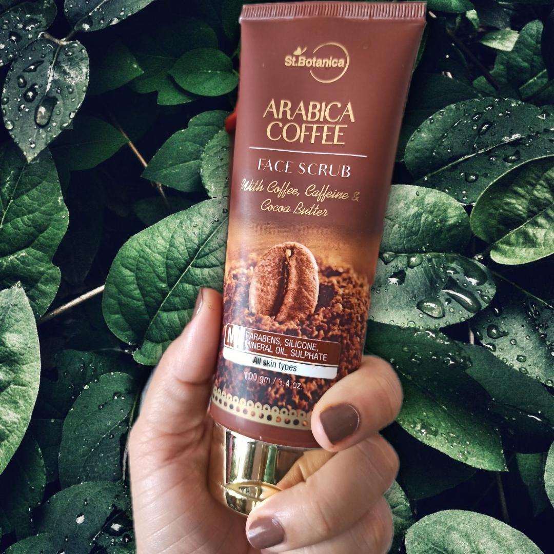 St.Botanica Arabica Coffee Face Scrub-Try if you love Coffee-By nitika.gusain1827