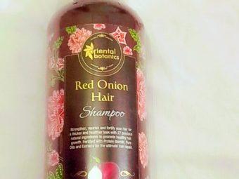 Oriental Botanics Red Onion Hair Shampoo -Great for frizzy hair-By ananya_banerjee_