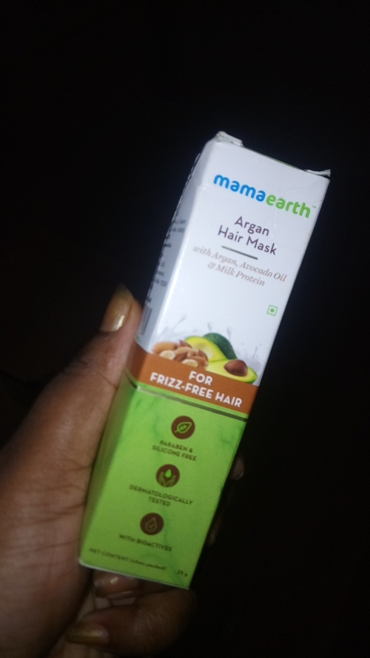 Mamaearth Argan Hair Mask -Amazing-By riddhi14