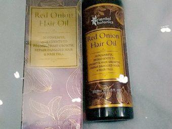 Oriental Botanics Red Onion Hair Growth Oil -Reduces hairfall-By ananya_banerjee_