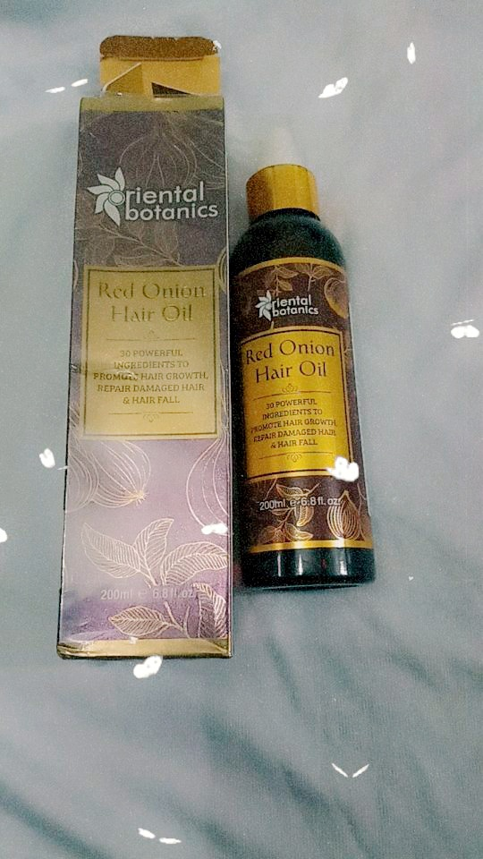 Oriental Botanics Red Onion Hair Growth Oil-Reduces hairfall-By ananya_banerjee_