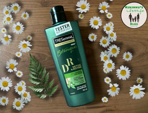 Tresemme Botanique Detox & Restore Shampoo-getting healthier hair and scalp-By nikita_soni