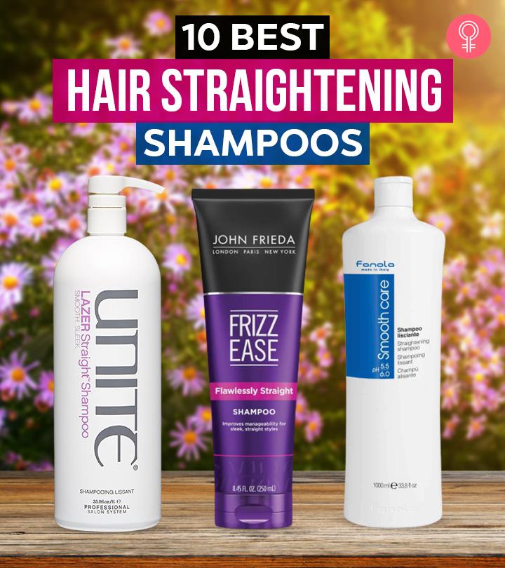 10 Best Hair Straightening Shampoos