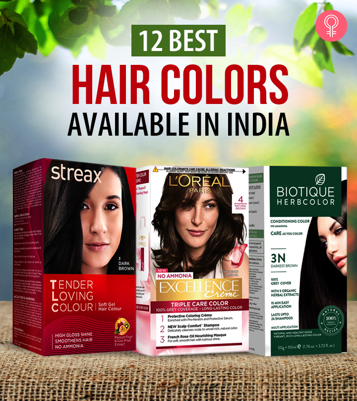 12 Best Hair Colors Available In India