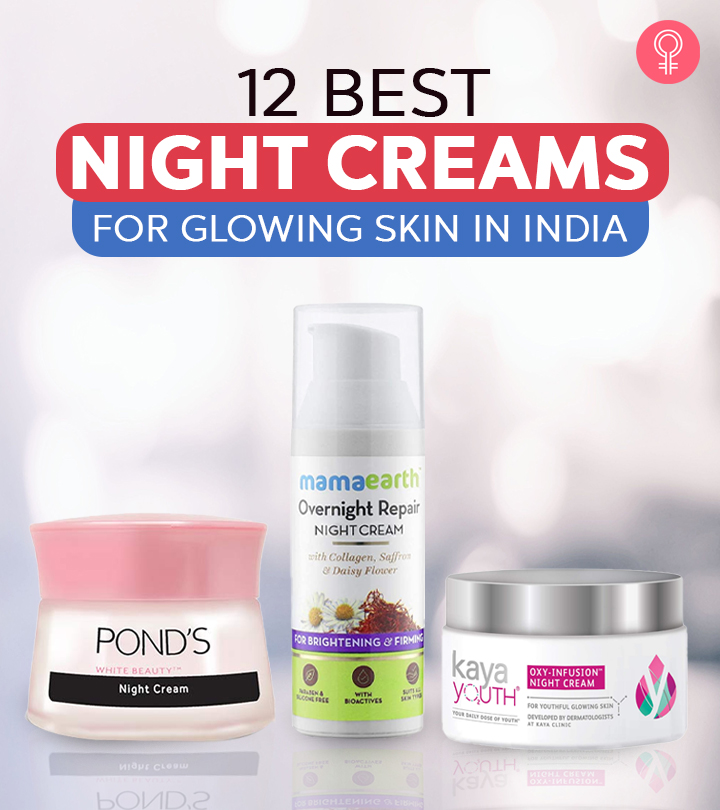 12 Best Night Creams For Glowing Skin In India