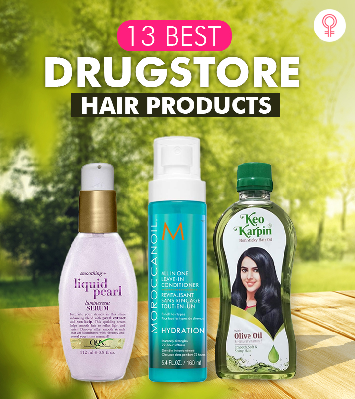 13 Best Drugstore Hair Products