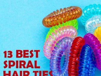 13 Best Spiral Hair Ties Of 2020