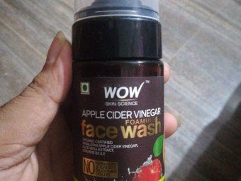 WOW Skin Science Apple Cider Vinegar Foaming Face Wash -Best cleanser-By vaishnavi11