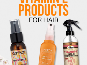 19 Best Vitamin E Products For Hair