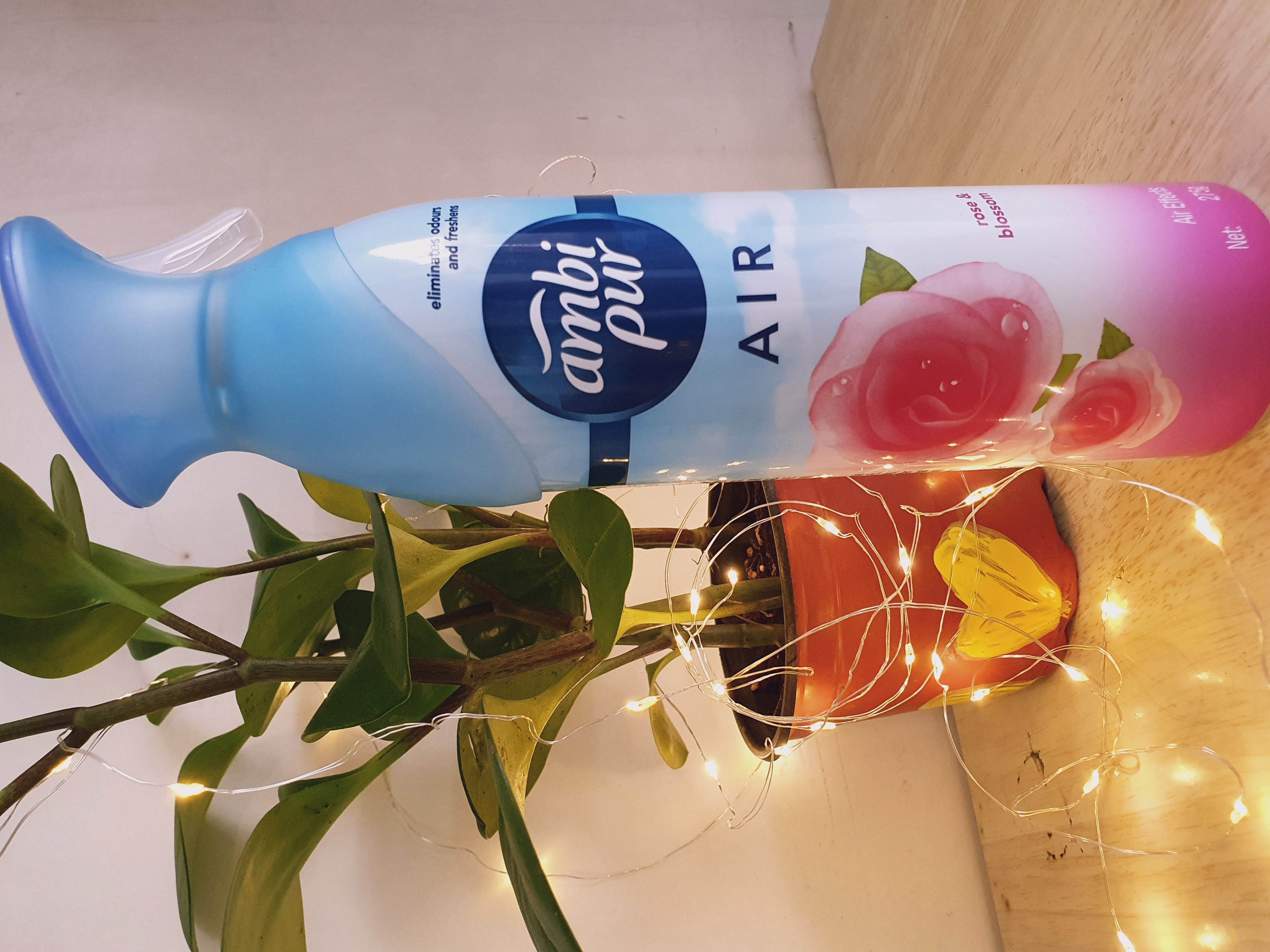 Ambi Pur Air Freshener – Rose and Blossom pic 2-Mild, Fresh and beautiful-By jyoti_s
